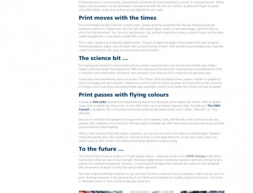 Fulfilment Blog Copywriting